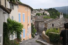 Menerbes, #Provence - the village where Peter Mayle wrote A Year in Provence