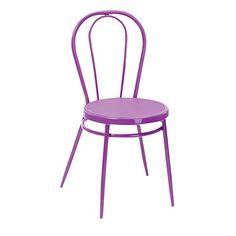 Solano Bistro Chair Purple