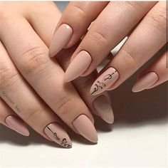 cute nail polish colors for spring Almond Acrylic Nails, Cute Acrylic Nails, Cute Nails, Pretty Nails, Moon Manicure, Nail Manicure, Manicure Ideas, Cute Nail Polish, Nail Polish Colors