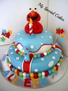 My Special Cakes: Elmo Cake