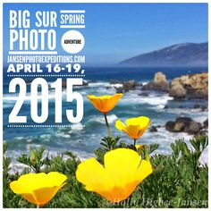For the creative photographer this Spring.  Join us for inspiration, exploration and adventure.