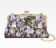 Tokidoki x Hello Kitty Purse with Gold Chain
