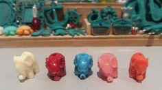 Elephant decoration dollhouse por TheDollHouseNym en Etsy