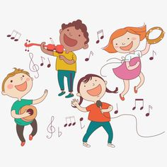 A child who plays musical instruments PNG and Vector School Art Projects, Art School, Fun Projects, Sewing Projects, Preschool Music, Preschool Crafts, Children's Instruments, Music Clipart, Music Wall Art