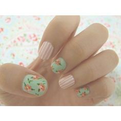 adorable spring nails