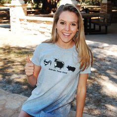 Animals Taste Good Funny T-Shirt - RoadKillTShirts.com