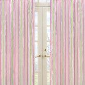 Found it at Wayfair - Jungle Friends Stripe Print Curtain Panel