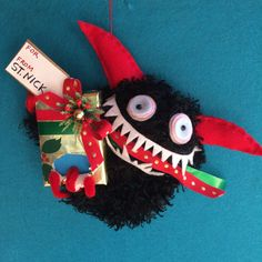 KRAMPUS ORNAMENT it's personal by hiGuys on Etsy