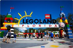 New theme park, Legoland, opens in Winter Haven, FL October 2011.