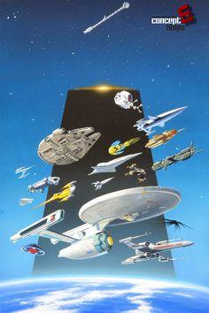 concept ships: MANCHU Monday: Les Archives du Futur - Ed. Hachette 2006