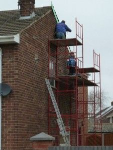 Fight Falls from Heights with Ladders