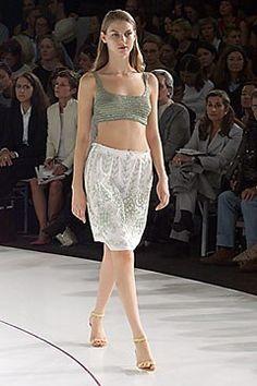Cerruti Spring 2000 Ready-to-Wear Fashion Show