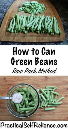 Most current Photo How to Can Green Beans (Raw Pack Method) Strategies Probably the most significant difficulties in the kitchen space will be food storage methods. Pressure Canning Recipes, Home Canning Recipes, Canning Tips, Cooking Recipes, Pressure Cooking, Canning Beans, Pressure Canning Green Beans, Jar Recipes, Cleaning Recipes