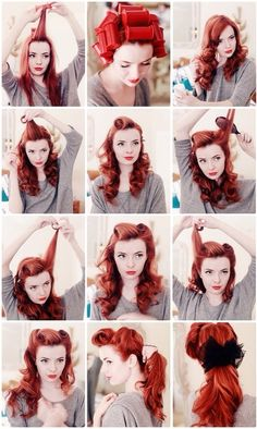 I think April's hair would look great like this :-)