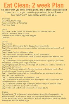 meal plan with no processed food, how to eat without sugar, no sugar recipes for the family