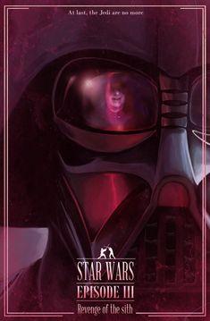 Star Wars: Episode III - movie poster