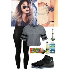 About to get another tat--, created by nikkifashionkilla on Polyvore