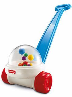 In 1957, inventor Arthur Holt sold his design for a small plastic dome filled with colorful balls to Fisher-Price for just $50. Since then, the Fisher-Price Corn Popper has become one of the most beloved (and irritating) toys for young children of all time.