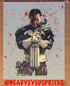 The Punisher by beadyeyedsprites