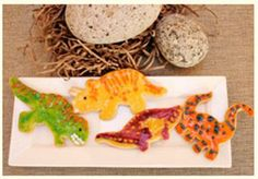 Looking for a prehistroic treat? Try Dino Dan's dinosaur cookies!