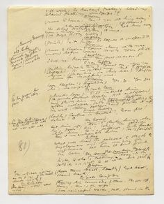 "James Joyce, Ulysses, autograph manuscript, ""Circe"" episode. Fall 1920."