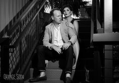 Liz and Greg - Las Vegas Container Park Engagement Session  #containerpark #blackandwhite  #engagementphotography #fremontstreet #oldvegas