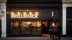 The Best Steak Restaurants In London - steak Restaurant Exterior Design, Small Restaurant Design, Cafe Exterior, Exterior Signage, Cafe Interior Design, Restaurant Concept, Cafe Design, Best Steak Restaurants, London Restaurants