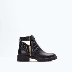 ZARA - NEW THIS WEEK - PADDED LEATHER BOOTIE