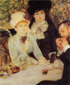 The End of Lunch - Pierre-Auguste Renoir