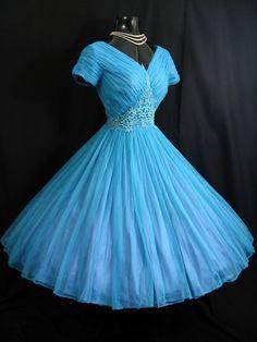 1950s prom dress  @Yvonne Apodaca-Burns