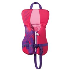 Full Throttle Rapid Dry PFD - Infant to 30lbs - Pink/Purple - https://www.boatpartsforless.com/shop/full-throttle-rapid-dry-pfd-infant-to-30lbs-pinkpurple/