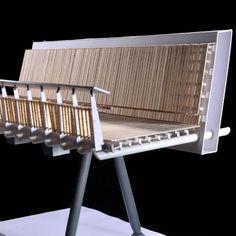 KRIS YAO | ARTECH | Great Vow Pedestrian Bridge Bridge Model, Bridge Structure, Arch Model, Bridge Support, Urban Concept, Steel Bridge, Public Space Design, Landscape And Urbanism, Bridge Design