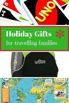 If you are wondering what to buy for families who love to travel, then here we give you our pick of this year's hottest gifts for travelling families.