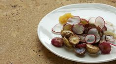 Don't these roasted radishes and potatoes look great?