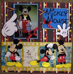 Disney Layout: Mickey Mouse