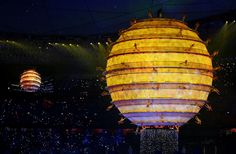 2008 Beijing Olympics Opening Ceremony [photo from The Big Picture]