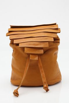 Hands Off! 15 Chic Backpacks Every S.F.'er Needs! #refinery29  http://www.refinery29.com/41525#slide2  Collina Strada Novella Bag, $297, available at Need Supply.