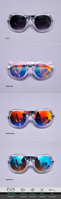 b8c67da9f7e Mens Funky Star Arm Transparent Mirror Teardrop Sunglasses By Guylook.com Men s  Sunglasses