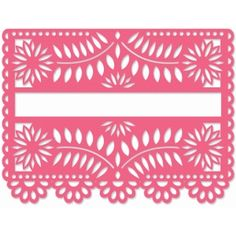 Silhouette Design Store: papel picado blank sign