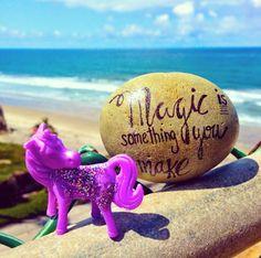 Word Rocks!: Find me in Solana Beach