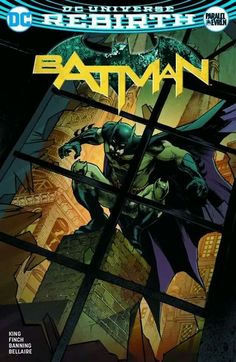 Batman Rebirth #1 variant by Yildiray Çinar