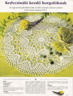 Kira crochet: Crocheted scheme no. 621