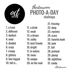 67 Ideas For Photography Challenge January Pictures Photo Challenge Instagram, 30 Days Photo Challenge, Challenge Ideas, Instagram Ideas, Instagram Posts, Photography Challenge, Photography Projects, Food Photography, Inspiring Photography