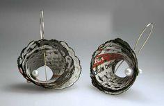 Paper Jewelery design by Ela Cindoruk in İstanbul