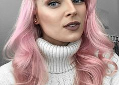 How to Get Pastel Pink Hair Using Ion Color Brilliance Dyes How to Remove Hair Color at Home Fast Silver Ombre Hair, Dyed Hair Ombre, Pink Hair Dye, Pastel Pink Hair, Hair Color Pink, Yellow Hair, Hair Color Balayage, Gray Hair, Dye Hair