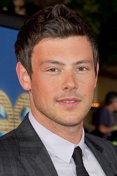 Cory Monteith...I just started watching glee and I'm so sad he's gone!  He's so cute!