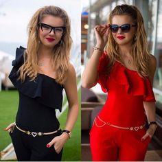 Mode Vrouwen One-schouder Speelpakjes Lady Club wear Bodycon Party Jumpsuit Slanke Mode Broek S