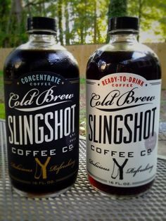 Slingshot Coffee, designed by Dapper Paper.