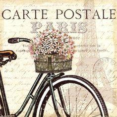 Resultado de imagen para paris dibujos vintage