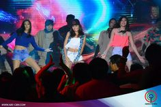"""This is Alex Gonzaga, Kathryn Bernardo, and Janella Salvador dancing to """"Watch Me (Whip/Nae-Nae"""" by Silentó during their production number for ASAP Supahdance during ASAP at ABS-CBN Studio 10 last June 28, 2015. Indeed, Alex, Kathryn, and Janella are my favourite Kapamilyas and they're amazing Star Magic talents and good dancers. #KathrynBernardo #TeenQueen #AlexGonzaga #IAmAlexG #JanellaSalvador #WatchMeWhipNaeNae #NaeNae #ASAP20 Child Actresses, Child Actors, Ariana Grande Bikini, Maja Salvador, Born Again Christian, Star Magic, Kathryn Bernardo, Dancers, Comedians"""